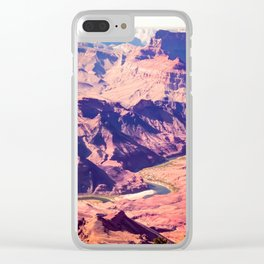 closeup desert at Grand Canyon national park, USA Clear iPhone Case
