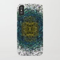 geode iPhone & iPod Cases featuring Geode Abstract 01 by Charma Rose
