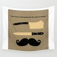 returns Wall Tapestries featuring No195 My Gangs of New York minimal movie poster by Chungkong