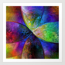 Every New Beginning Comes From Some Other Beginnings End - Digital Artwork Art Print