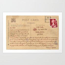 Dear Edith Art Print