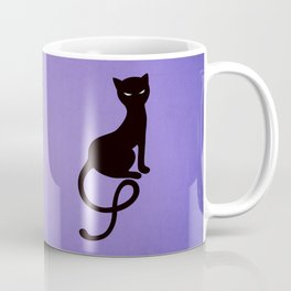 Gracious Evil Black Cat Coffee Mug
