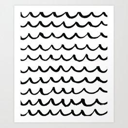 On the Same Wavelength Art Print