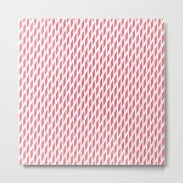 Pink 1960s vibe Metal Print