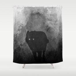 Wolf Mountain Shower Curtain