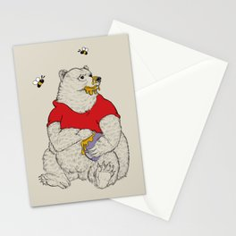 Silly ol' Bear Stationery Cards
