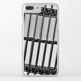 Tapes II Clear iPhone Case