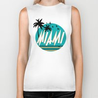 mia wallace Biker Tanks featuring MIA  by FRSHCo.