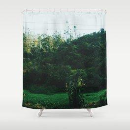 Sri Lankan Train ride Shower Curtain