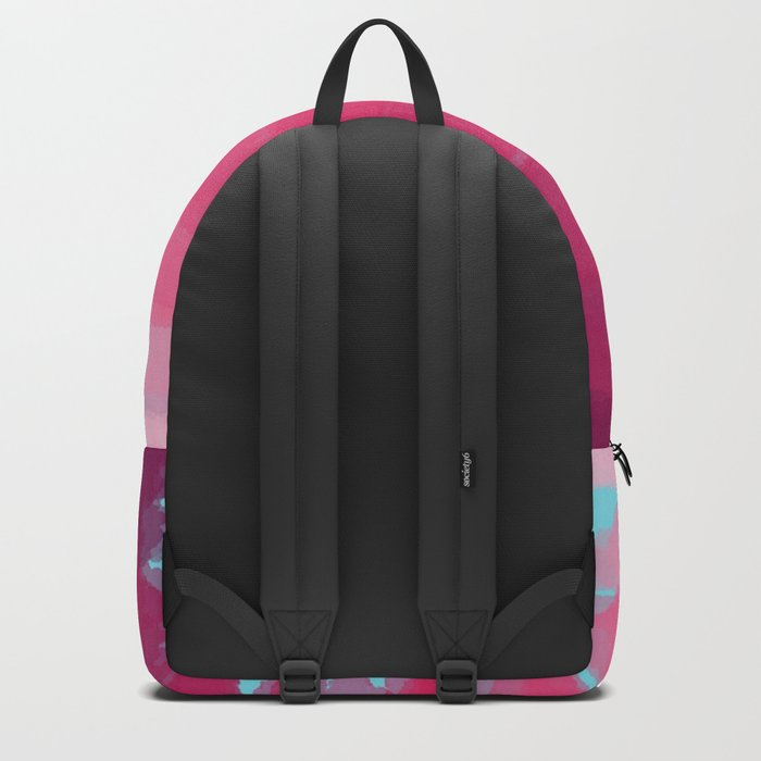 Lipstick: Shades of Pink Gradient Color Study Backpack