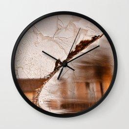 Stream of Peeling Dreams Wall Clock