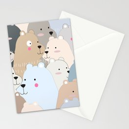 BEAR #10 Stationery Cards