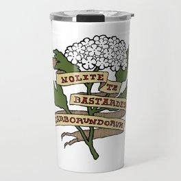 Handmaid's Tale - NOLITE TE BASTARDES CARBORUNDORUM (color) Travel Mug