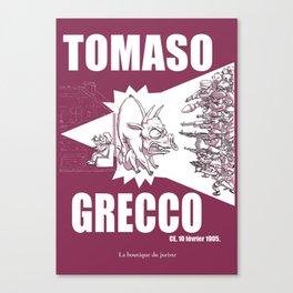 Tomaso Canvas Print