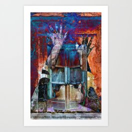 BREAKING WALLS Art Print