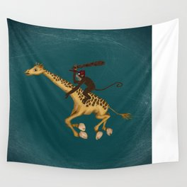 Run Through the Jungle Wall Tapestry