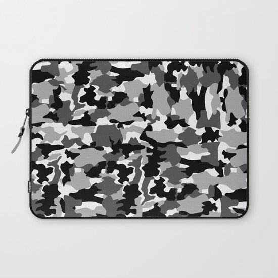 black and white Background Pattern Camo by az_design