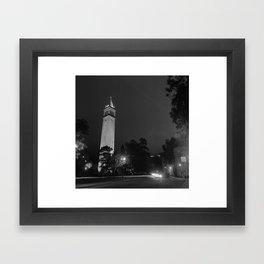 Sather Tower - Berkeley, CA Framed Art Print