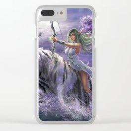 Night elf Clear iPhone Case
