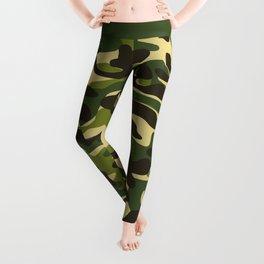 Fashion Military Camouflage Pattern Leggings