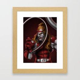 Omega Red - Marvel Villain Series Framed Art Print
