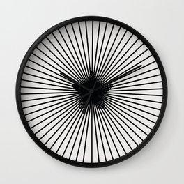 pattern 100 Wall Clock