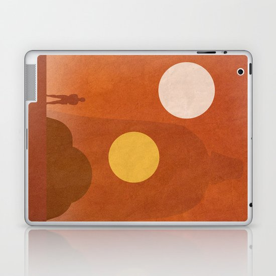 A New Hope Movie Poster Laptop & iPad Skin