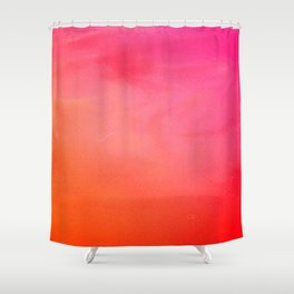 PinkOrange Gradient Shower Curtain