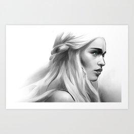 Mother of Dragons Art Print