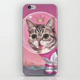 Supersonic Space Princess iPhone Skin