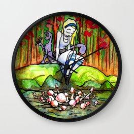 Alice Wall Clock