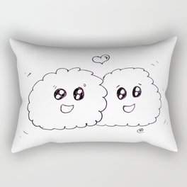 cloudy friends Rectangular Pillow