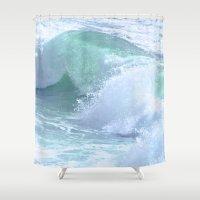 splash Shower Curtains featuring SPLASH by Teresa Chipperfield Studios