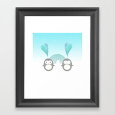 Artic hearts Framed Art Print