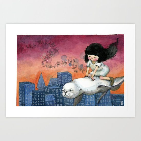 Galápagos Dream Art Print