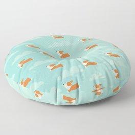 Angel Corgi Floor Pillow