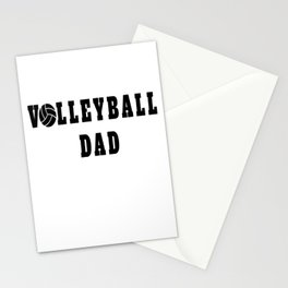 Volleyball Dad Quote Stationery Cards