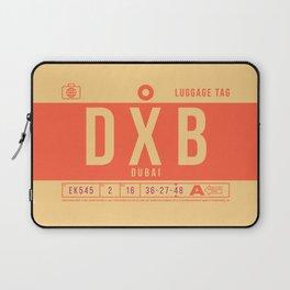 Luggage Tag B - DXB Dubai UAE Laptop Sleeve