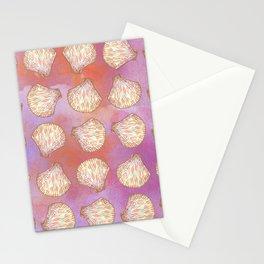 Seashells pattern Stationery Cards