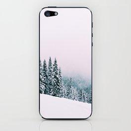 Angled Snow iPhone Skin