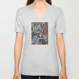 Made by Hand (oil on canvas) Unisex V-Neck