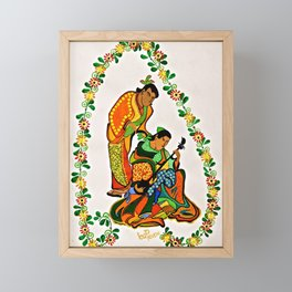 """The Companion"" by ICA PAVON Framed Mini Art Print"