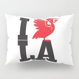 I HEART LA Pillow Sham