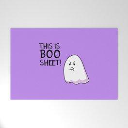 Grumpy Ghost Welcome Mat