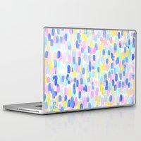 toddler Laptop & iPad Skins featuring Delight Pastel by Jacqueline Maldonado