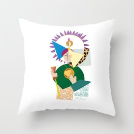 St. Jude Geo-1 Throw Pillow