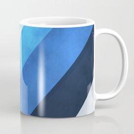 Parallel Blues Coffee Mug
