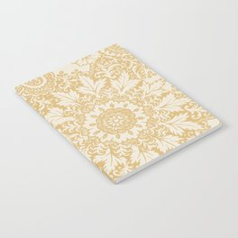 Floral in Yellow Notebook