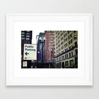 helvetica Framed Art Prints featuring Helvetica by loholtz
