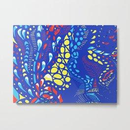 Under the Ocean Metal Print